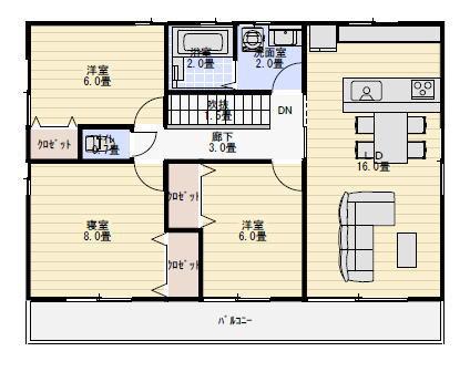 二世帯住宅 上下階分離