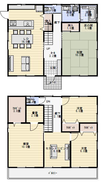 間取り 二世帯住宅