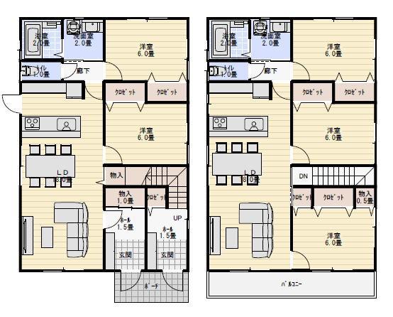 二世帯住宅 完全分離